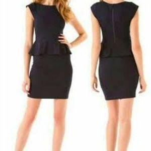 Alice & Olivia Employed Peplum Dress
